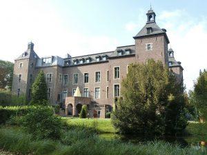 調印式の舞台となるネールゼン城(ヴィリッヒ市の市庁舎)