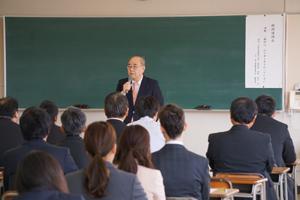 元教育長講演会