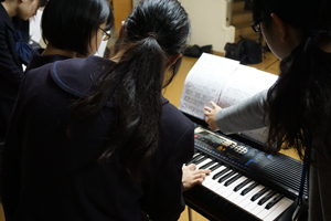 中学校音楽部3